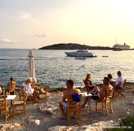 dine on the beach front at the Fish Shack for Ibiza seafood